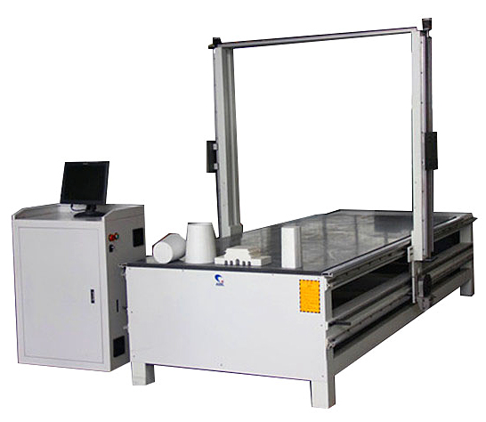 Superstar CX-1325 hot wire vertical foam cutting machine