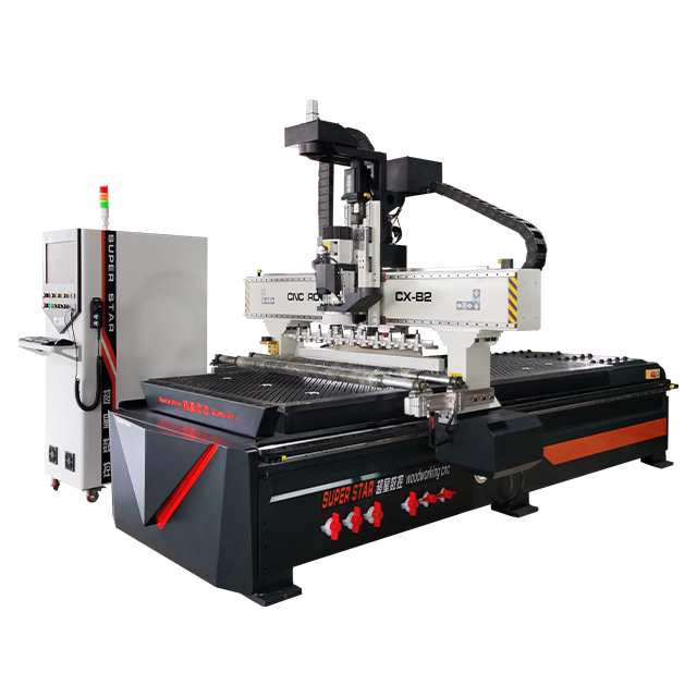 Linear ATC WOODWORKING CNC ROUTER